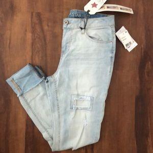 Mid rise Skinny Jeans - Vanilla Star - sz 9